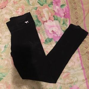 Black Victoria secret pink! Leggings
